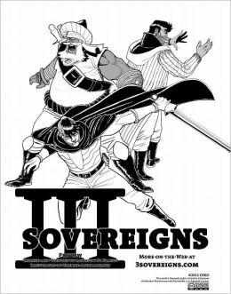 Three Sovereigns - Preview (NOOK Comics with Zoom View)