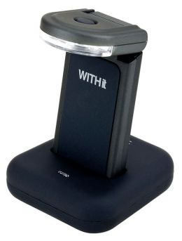 rechargeable book light dock in black by withit barnes. Black Bedroom Furniture Sets. Home Design Ideas