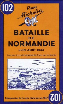 Michelin Battle of Normandy Michelin Map #102