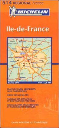 Paris Region Map