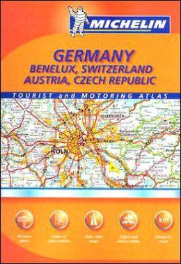 Germany/Benelux/Austria/Switzerland/Czech Republic Atlas