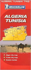 Michelin Map Africa: Algeria Tunisia #743