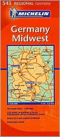 Midwest Germany Map