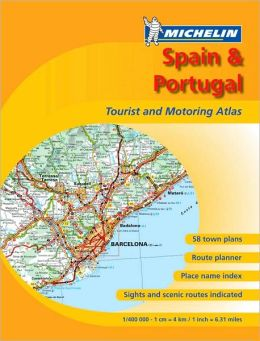 Spain & Portugal Tourist & Motoring Atlas