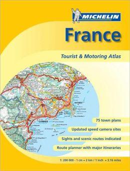 France Tourist & Motoring Atlas