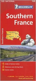 Michelin France, South Map 725
