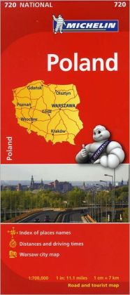 Michelin Poland Map 720