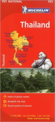 Map Country Thailand Map 751