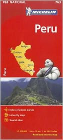 Michelin Peru Map 763