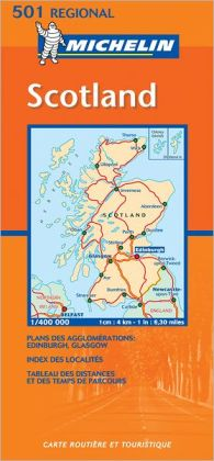 Michelin Map Great Britain: Scotland 501