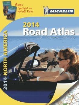 Michelin North America Road Atlas 2014