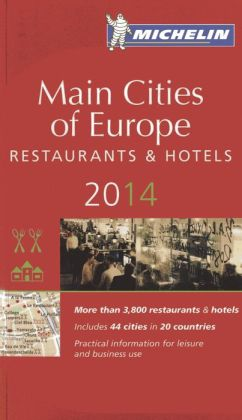 Michelin Guide Main Cities of Europe 2014