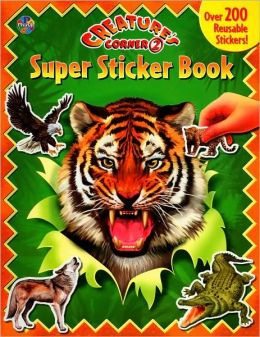 Creature's Corner 2: Super Sticker Book