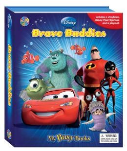 Pixar Brave Buddies Busy Book