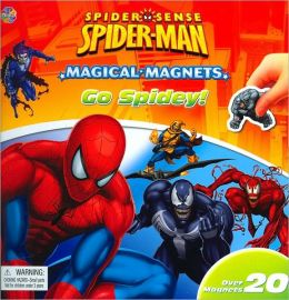 Spider Sense Spider-Man Magical Magnets: Go Spidey!