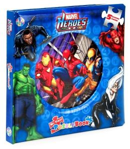Marvel Heroes (My First Puzzle Book Series)