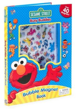 Sesame Street Busy Buddies Bubble Magnet Book