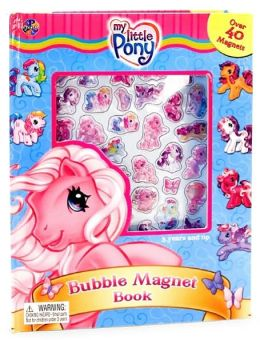My Little Pony Bubble Magnet Book