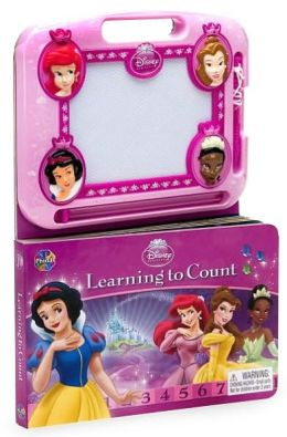Disney Princess Learning to Count