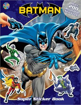 Batman Super Sticker Books