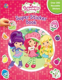 Strawberry Shortcake Super Sticker Books