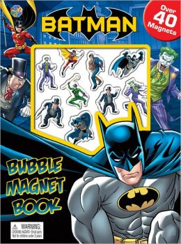 Batman Bubble Magnet Book