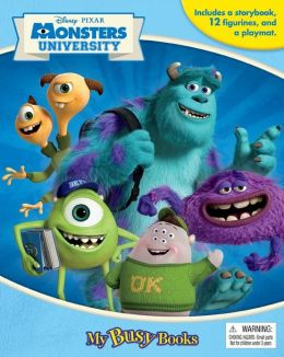 Monsters University (My Busy Books Series)