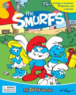 Smurfs Busy Book