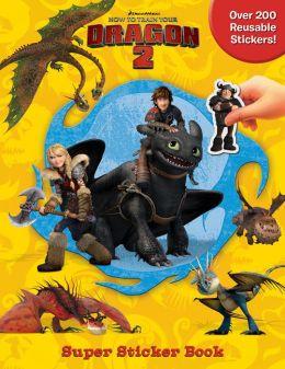Dworks Dragons Super Sticker Book
