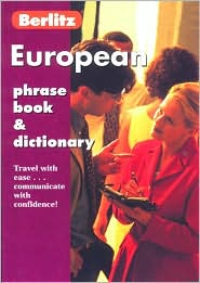 Berlitz European Phrase Book and Dictionary
