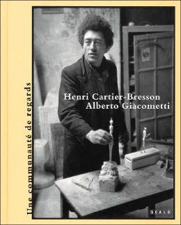 Henri Cartier-Bresson and Alberto Giacometti
