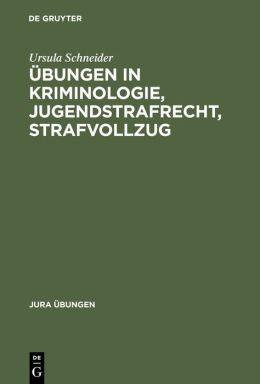 Schneider/Schneider:Uebungeni.Kriminologie Jurue