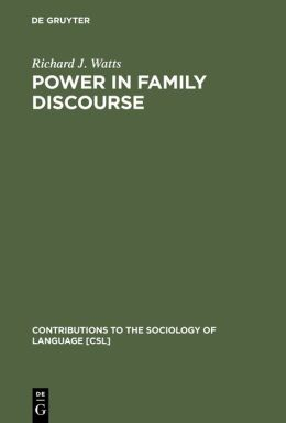 Power in Family Discourse