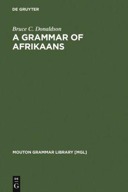 Grammar of Afrikaans