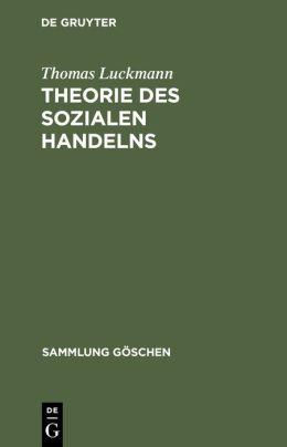 Theorie DES Sozialen Handelns
