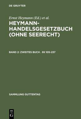 Heymann Handelsgesetzbuch: (Ohne Seerecht) Kommentar
