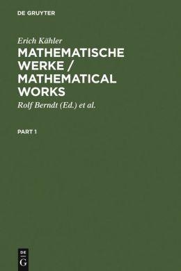 Mathematische Werke (Mathematical Works)