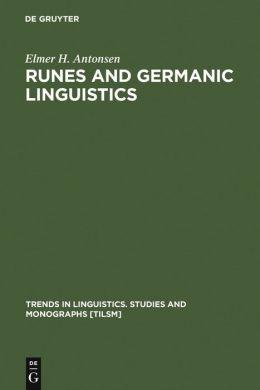 Runes and Germanic Linguistics