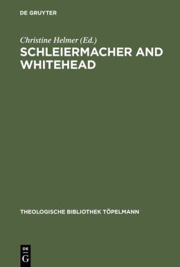 Schleiermacher and Whitehead/ Open Systems in Dialogue (Theologische bibliothek topelmann, band 125)