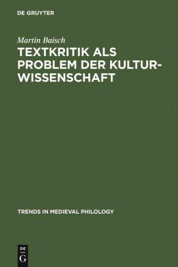 Anekdotische Varianz: Untersuchungen zur Kulturellen Funktion Mittelalterlicher Uberlieferung