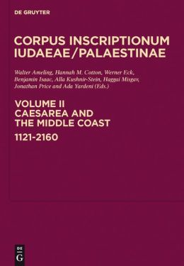 Caesarea and the Middle Cost : 1120-2160