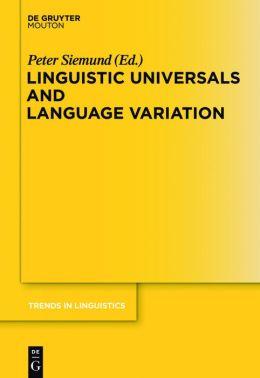 Linguistic Universals and Language Variation