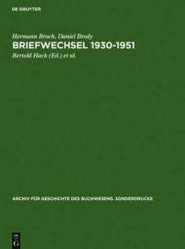Briefwechsel 1930-1951