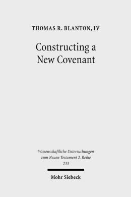 Constructing a New Covenant: Discursive Strategies in the Damascus Document & Second Corinthians