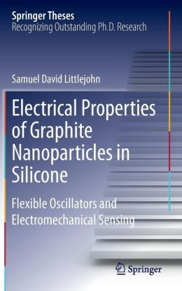 Electrical Properties of Graphite Nanoparticles in Silicone: Flexible Oscillators and Electromechanical Sensing