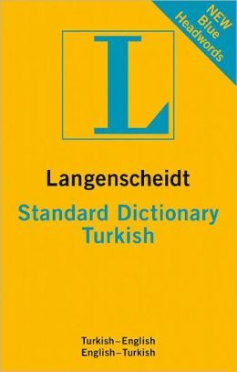 Langenscheidt Standard Dictionary Turkish