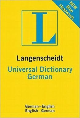 Langenscheidt Universal Dictionary German