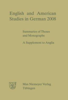 Meyer, Paul Georg: English and American Studies in German. Jahrgang 2008
