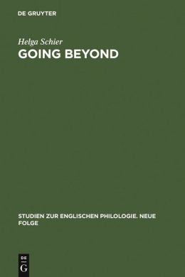 Going Beyond: Crisis of Identity and Identity Models in Contemporary American, English and German Fiction
