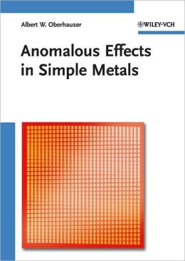 Anomalous Effects in Simple Metals
